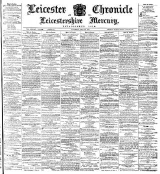 cover page of Leicester Chronicle published on May 26, 1894