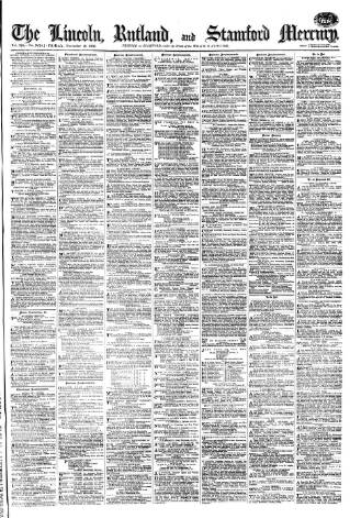 cover page of Stamford Mercury published on December 15, 1876