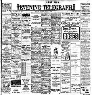 cover page of Northants Evening Telegraph published on July 17, 1902