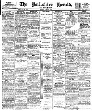 cover page of York Herald published on June 1, 1894