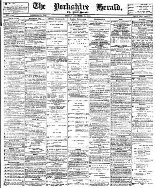 cover page of York Herald published on December 14, 1894