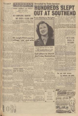 cover page of Essex Newsman published on May 27, 1947