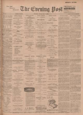 cover page of Dundee Evening Post published on May 18, 1900