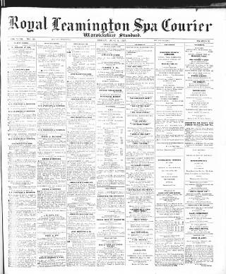 cover page of Leamington Spa Courier published on June 3, 1927