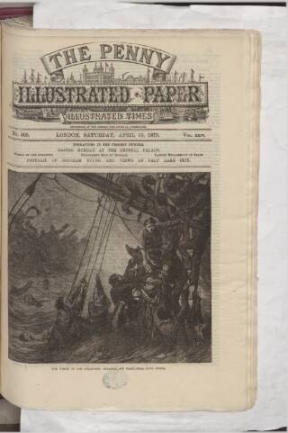 cover page of Penny Illustrated Paper published on April 19, 1873