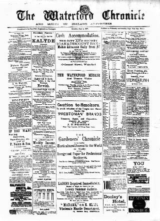 cover page of Waterford Chronicle published on June 1, 1907