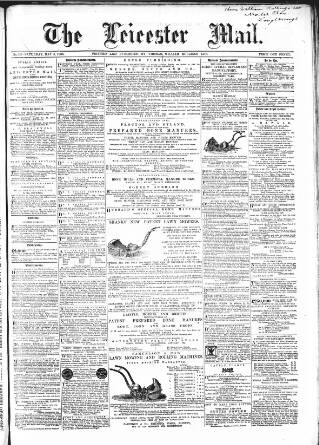 cover page of Leicester Mail published on May 5, 1866