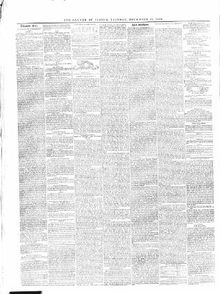 cover page of Banner of Ulster published on December 16, 1856