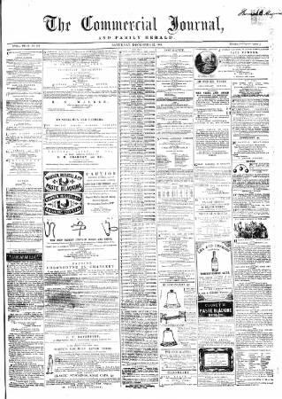 cover page of Commercial Journal published on December 17, 1864