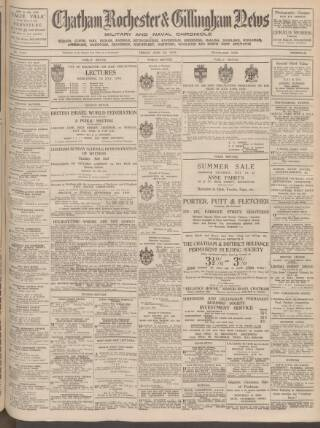 cover page of Chatham News published on June 30, 1939