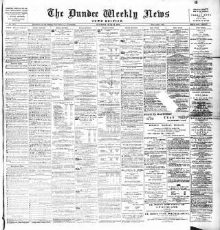 cover page of Dundee Weekly News published on July 21, 1888