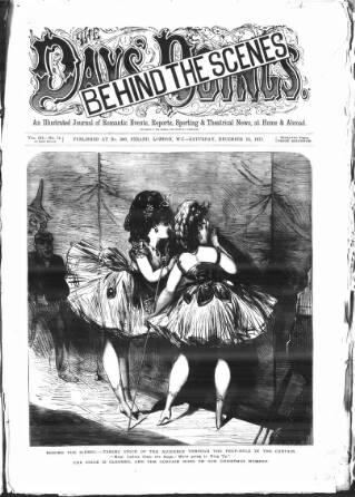 cover page of The Days' Doings published on December 23, 1871