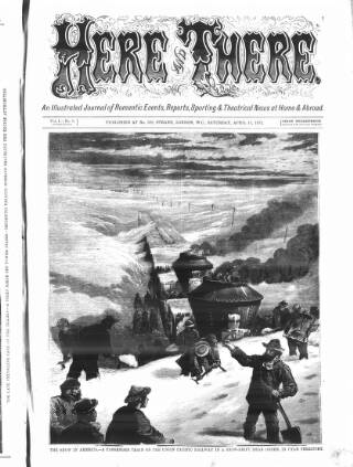 cover page of The Days' Doings published on April 13, 1872