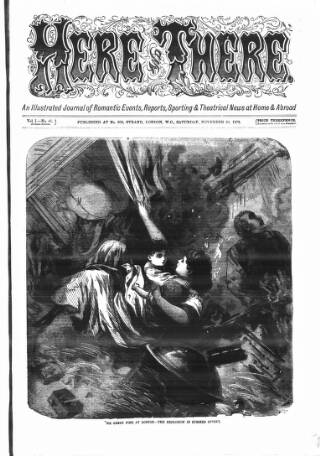 cover page of The Days' Doings published on November 30, 1872