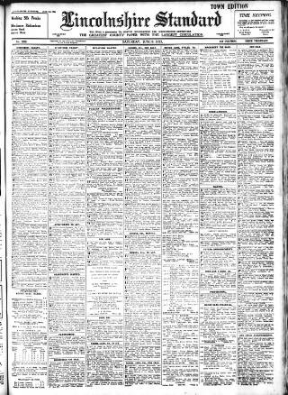 cover page of Lincolnshire Standard and Boston Guardian published on June 3, 1933