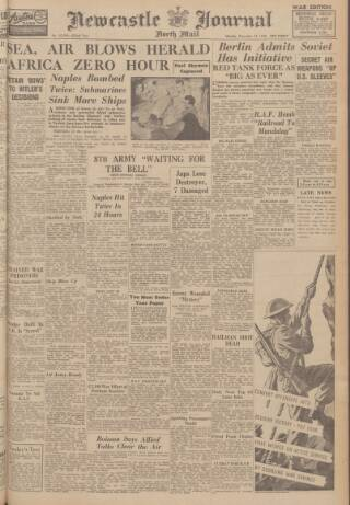 cover page of Newcastle Journal published on December 14, 1942