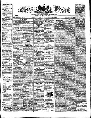 cover page of Essex Herald published on March 20, 1849