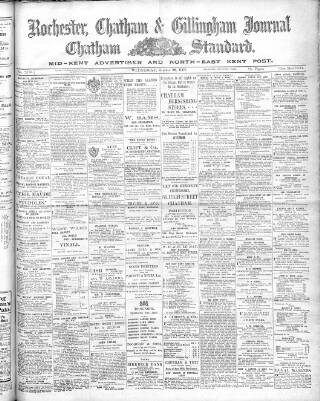 cover page of Rochester, Chatham & Gillingham Journal published on October 28, 1908