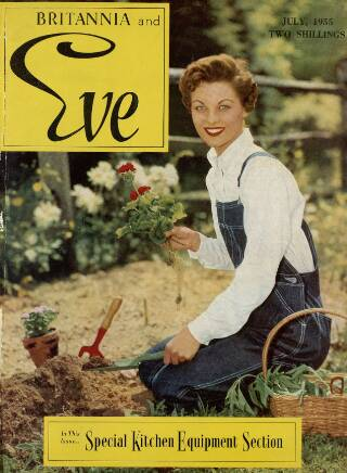 cover page of Britannia and Eve published on July 1, 1955