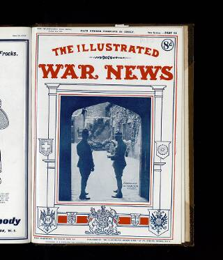 cover page of Illustrated War News published on June 20, 1917
