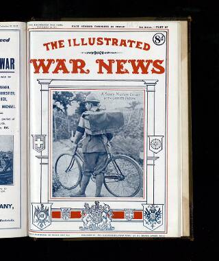 cover page of Illustrated War News published on September 19, 1917