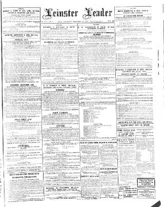 cover page of Leinster Leader published on December 18, 1943