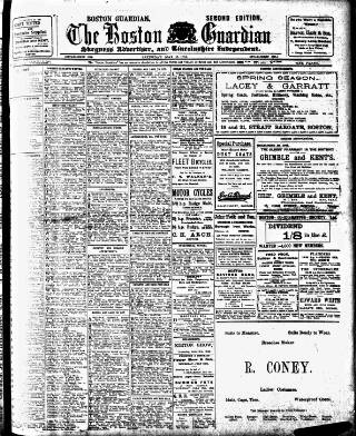 cover page of Boston Guardian published on May 17, 1913