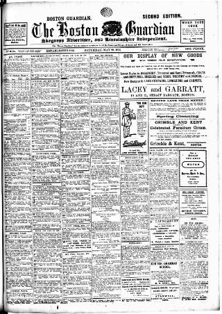 cover page of Boston Guardian published on May 29, 1915