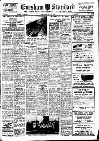cover page of Evesham Standard & West Midland Observer published on May 17, 1947
