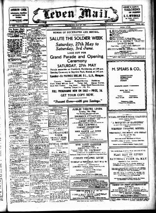 cover page of Leven Mail published on May 17, 1944
