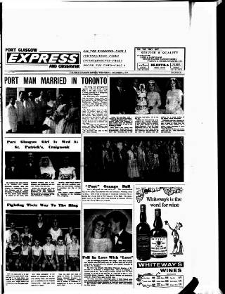 cover page of Port-Glasgow Express published on December 2, 1959