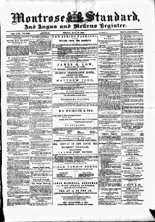 cover page of Montrose Standard published on May 18, 1894