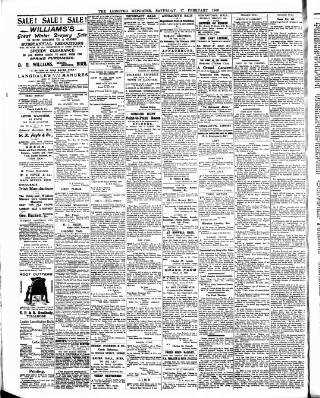 cover page of Leinster Reporter published on February 17, 1906